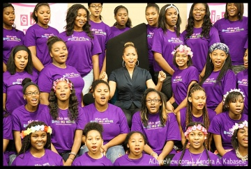 Marjorie Harvey celebrates her 2014 Girls Who Rule the World mentees!